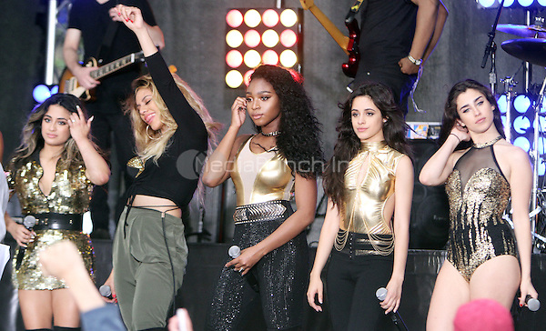 NEW YORK, NY-May 30: Ally Brooke, Dinah Jane Hansen, Normani Korde,  Camila Cabello. Lauren Jauregui of Fifth Harmony perform at Citi Concert Series on Today Show  in New York. NY May 30, 2016. Credit:RW/MediaPunch
