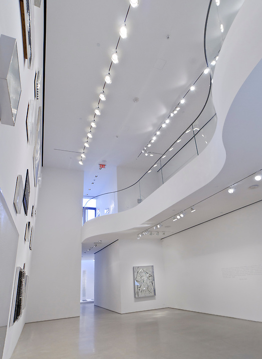 Sperone Westwater Gallery by Foster + Partners, Art work by Heinz Mack, 257 Bowery, Manhattan, New York City, New York, USA