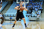 04 November 2015: Wingate's Alex Tomlinson. The University of North Carolina Tar Heels hosted the Wingate University Bulldogs at Carmichael Arena in Chapel Hill, North Carolina in a 2015-16 NCAA Women's Basketball exhibition game. UNC won the game 86-84.