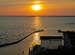 A sunset viewed from the Currituck Sound side of the Outer Banks, south of Corolla