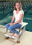 9-1-16, Skyline High School girl's swimming and diving team
