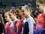 British Championships 2017. Junior Women All Around Competition 24.3.17
