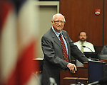 Fred Wicker is the guest speaker at a Naturalization Ceremony at the U.S. District Court in Oxford, Miss., on Thursday, December 20, 2012.