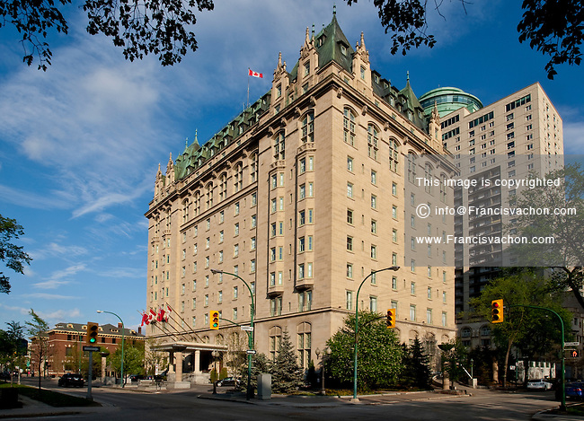 Fort Garry Hotel is pictured in Winnipeg Sunday May 22, 2011. Built in 1913 by the Grand Trunk Pacific Railway, The Fort Garry Hotel is a historic hotel in Downtown Winnipeg, Manitoba, Canada and one of Canada's grand railway hotels.