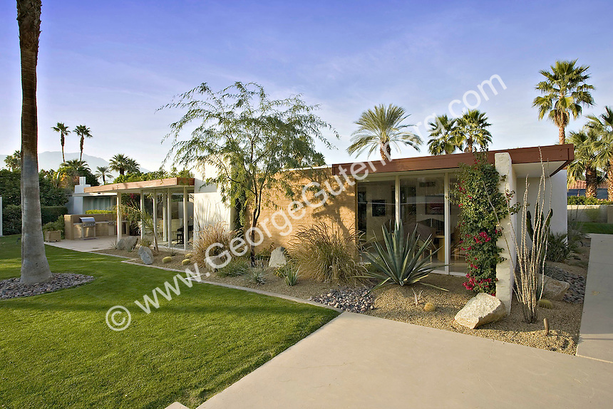 Stock Photo Of Cody Designed Mid Century Modern Home Stock