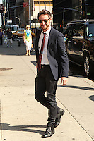 AUG 27 James McAvoy At Late Show With David Letterman