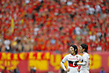 (L to R) Jungo Fujimoto (Grampus), Yoshizumi Ogawa (Grampus), DECEMBER 3, 2011 - Football / Soccer : 2011 J.LEAGUE Division 1 final sec between Niigata Albirex 0-1 Nagoya Grampus at Niigata bigswan stadium in Niigata, Japan. (Photo by Yusuke Nakanishi/AFLO SPORT) [1090]