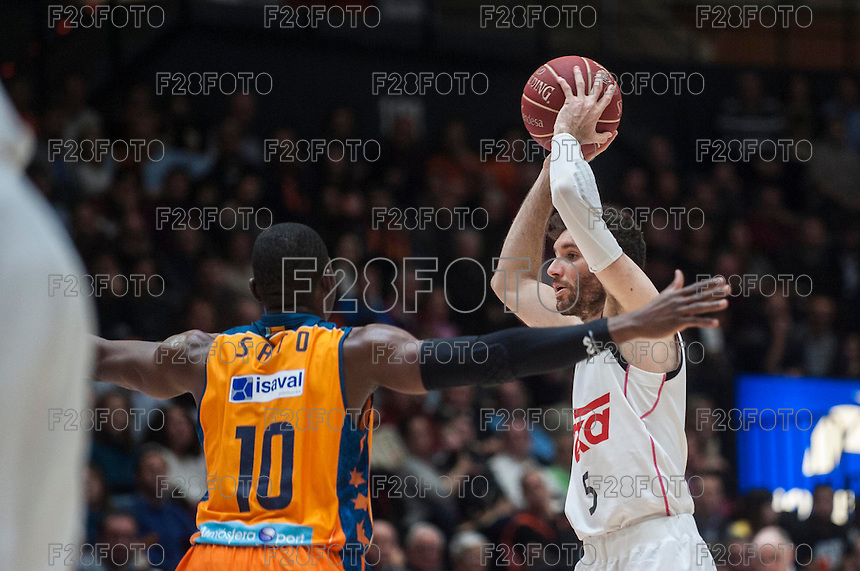 Valencia Basket 87-99 Real Madrid (15-2-2015)