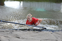 FIERLJEPPEN: GRIJPSKERK: 05-09-2015, NK Fierljeppen voor jeugd tot 12 jaar, ©foto Martin de Jong