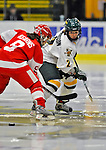 9 February 2008: University of Vermont Catamounts' forward Molly Morrison, a Freshman from South Burlington, VT, in action against the Boston University Terriers at Gutterson Fieldhouse in Burlington, Vermont. The Terriers shut out the Catamounts 2-0 in the Hockey East matchup...Mandatory Photo Credit: Ed Wolfstein Photo