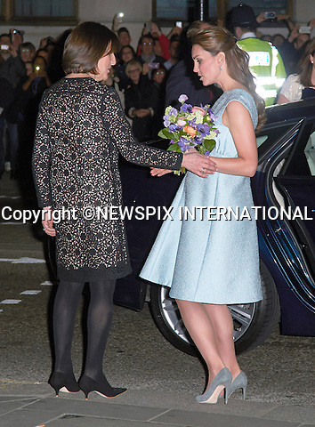 """CATHERINE, DUCHESS OF CAMBRIDGE.Patron, The Art Room, attended an evening reception to celebrate the work of the charity at the National Portrait Gallery, London_24/04/2013.The Duchess is 7 months into her pregnancy..Mandatory credit photo:©DiasImages/NEWSPIX INTERNATIONAL..**ALL FEES PAYABLE TO: """"NEWSPIX INTERNATIONAL""""**..PHOTO CREDIT MANDATORY!!: NEWSPIX INTERNATIONAL(Failure to credit will incur a surcharge of 100% of reproduction fees)..IMMEDIATE CONFIRMATION OF USAGE REQUIRED:.Newspix International, 31 Chinnery Hill, Bishop's Stortford, ENGLAND CM23 3PS.Tel:+441279 324672  ; Fax: +441279656877.Mobile:  0777568 1153.e-mail: info@newspixinternational.co.uk"""