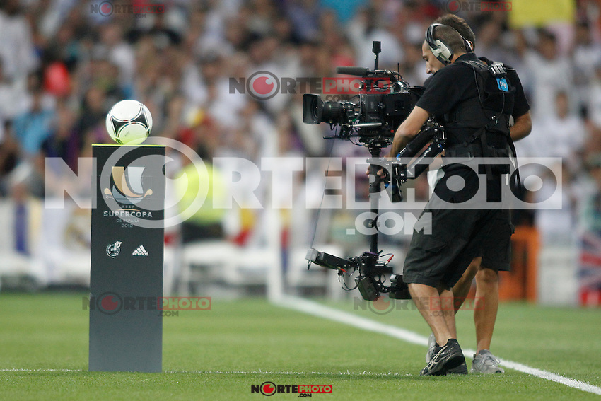 Real Madrid vs Barcelona Super Copa of Spain on Agost 29th 2012...Photo:  (ALTERPHOTOS/Ricky) Super Cup match. August 29, 2012. <br />