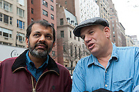 David Simon and  Suketu Mehta