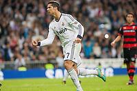 Cristiano Ronaldo celebrates penalty goal