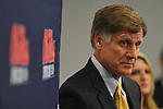 Mississippi athletic director Pete Boone attends a press conference at the IPF at the University of Mississippi in Oxford, Miss. on Monday, November 7, 2011. Boone announced that head football coach Houston Nutt will not be retained following the season. Boone also announced that he will step down as athletic director by December 31, 2012.
