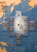 Exhibit aboard the USS New Jersey (BB62), Camden Waterfront, Delaware River, New Jersey