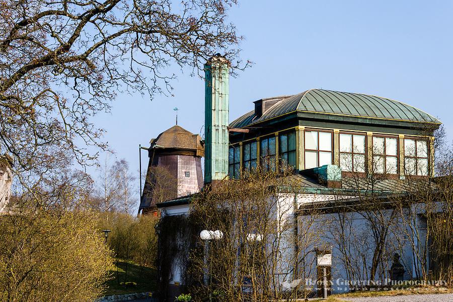 Sweden, Stockholm. Prins Eugens Waldemarsudde, the scenic former home of the Swedish Prince Eugen.