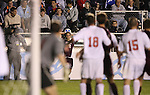 14 December 2007: Massachusetts' Douglas Rappaport (12) takes a throw-in. The Ohio State University Buckeyes defeated the University of Massachusetts Minutemen 1-0 at SAS Stadium in Cary, North Carolina in a NCAA Division I Mens College Cup semifinal game.