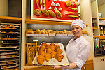 Paillard, a popular bakery in Quebec, serves fresh croissants among other traditional French offerings.  It also serves sandwiches and salads to go, as well as gelato.