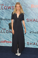 "NEW YORK, NY - June 21:  Elise Aarnink attends the NEw York premiere for ""The Shallow"" at the Loews AMC on June 21, 2016   in New York City .  Photo Credit: John Palmer/ MediaPunch"