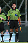 05 September 2016: Assistant Referee Kevin Uitto. The University of North Carolina Tar Heels hosted the Virginia Commonwealth University Rams at Fetzer Field in Chapel Hill, North Carolina in a 2016 NCAA Division I Men's Soccer match. UNC won the game 3-2.