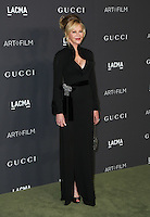 LOS ANGELES, CA - OCTOBER 29: Melanie Griffith attends the 2016 LACMA Art + Film Gala honoring Robert Irwin and Kathryn Bigelow presented by Gucci at LACMA on October 29, 2016 in Los Angeles, California. (Credit: Parisa Afsahi/MediaPunch).