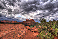 Sedona Storm - Arizona<br /> Cathedral Rocks
