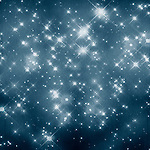 blue stars texture