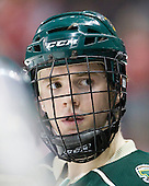 Matt White (Vermont - 19) - The visiting University of Vermont Catamounts tied the Boston University Terriers 3-3 in the opening game of their weekend series at Agganis Arena in Boston, Massachusetts, on Friday, February 25, 2011.