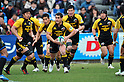 George Smith (Sungoliath),.FEBRUARY 26, 2012 - Rugby : Japan Rugby Top League 2011-2012,Play Off Tournament Final .match between Suntory Sungoliath 47-28 Panasonic Wild Knights at Chichibunomiya Rugby Stadium, Tokyo, Japan. (Photo by Jun Tsukida/AFLO SPORT) [0003] .