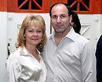 WATERBURY, CT - 31 March 2004 - 033104TH08 - Michael and Kathy Mazzeo of Waterbury pose at the preview party for the Sacred Heart High School Spring Musical preview party at the Mattatuck Museum in Waterbury.   TODD HOUGAS PHOTO
