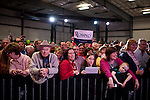 The crowd waits GOP presidential candidate Mitt Romney at a campaign rally in Elko, Nevada, February 3, 20112.