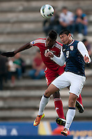 LUIS SAEZ Y MARIO RODRIGUEZ PUEBLA -Mexico, March 1, 2013: The U.S. Under-20 Men's National Team advanced to the title match of the 2013 CONCACAF U-20 Championship with a 2-0 victory against Cuba at Estadio Cuauhtémoc. Mario Rodriguez and Daniel Cuevas scored three minutes apart and Cody Cropper recorded his second shutout of the tournament in putting the U.S. through to the final.