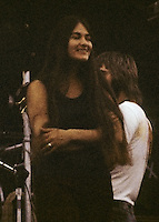Donna Jean Godchaux of The Grateful Dead Live at Dillon Stadium, Hartford, CT 31 July 1974. Featuring the Wall of Sound. Summer weekday show, one of the longest ever played by The Dead.