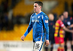 St Johnstone v Partick Thistle&hellip;02.03.16  SPFL McDiarmid Park, Perth<br />Danny Swanson walks off at full time<br />Picture by Graeme Hart.<br />Copyright Perthshire Picture Agency<br />Tel: 01738 623350  Mobile: 07990 594431