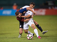 Washington, DC - October 11, 2016: The USMNT tied New Zealand 1-1 during their international friendly at RFK Stadium.