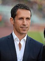 FUSSBALL   1. BUNDESLIGA   SAISON 2013/2014   1. SPIELTAG Eintracht Braunschweig - Werder Bremen             10.08.2013 Manager Thomas Eichin (SV Werder Bremen)