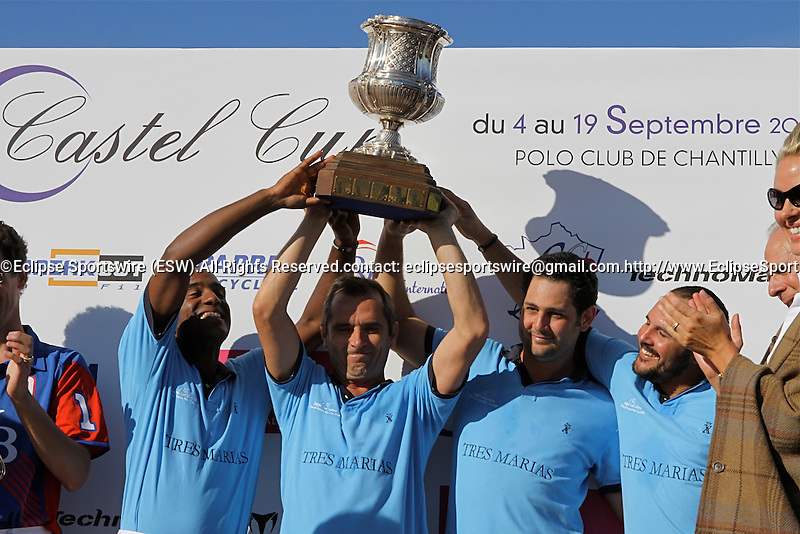 Final of the Polo French Open. Tres Marias Team , the winners