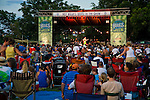 Carolyn Wonderland at KGSR's Blues on the Green concert series in Zilker Park, Austin Texas, June 23, 2010.