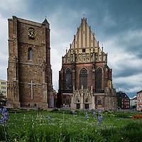 St. Jacobs and St. Agnes Church, Nysa, Opole Voivodship, Poland