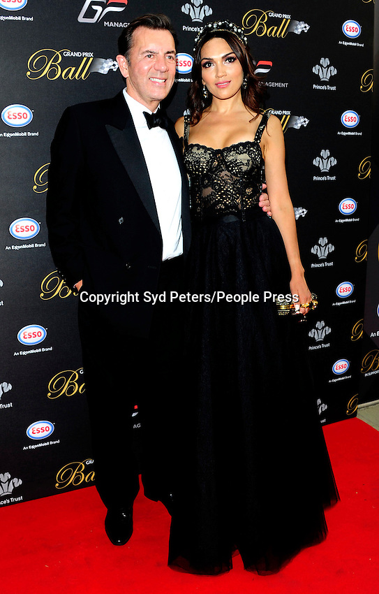 Duncan Bannatyne  attend the Grand Prix Ball at The Hurlingham Club In London