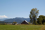 A barn sits in the Applegate Valley in southern Oregon