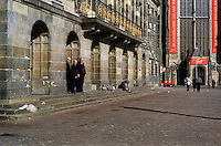 The Royal Palace in Amsterdam (Netherlands, 12/04/1991)