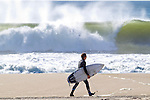 Corey Frank surfs Manasquan Beach on Sat., June 8, 2013, the Tropical Storm Andrea swell.  photo by Andrew Mills