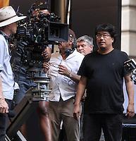 NEW YORK, NY-July 16: Bong Joon-Ho shooting on location for Netflix & Plan B Enterainment  film Okja in New York. NY July 16, 2016. Credit:RW/MediaPunch
