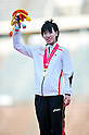 Chisato Fukushima (JPN), ..JULY 10, 2011 - Athletics :The 19th Asian Athletics Championships Hyogo/Kobe, Women's 200m Final at Kobe Sports Park Stadium, Hyogo ,Japan. (Photo by Jun Tsukida/AFLO SPORT) [0003]