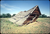 Leaning Shed. Color Slides by Don Mueller