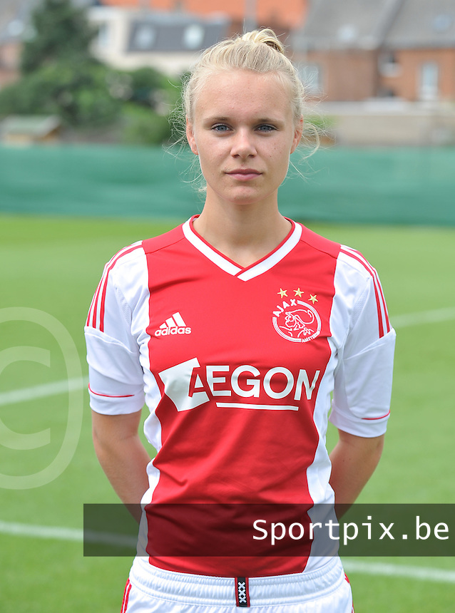 Ajax Amsterdam Dames :  Vesna Veltrop.foto DAVID CATRY / Vrouwenteam.be