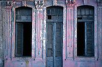 Along the Malecon in Havana, Cuba - 1999