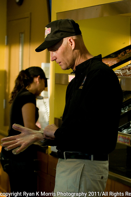 Florida Gov. Rick Scott Workdays-Donuts